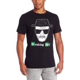 ブレイキング・バッド ハイゼンベルグ スケッチ メンズ ライトウェイト ブラック Tシャツ | S