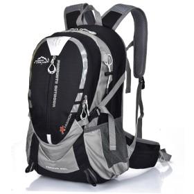 Advocator 30L 防水ナイロン デイパック アウトドア 大容量 スポーツ アルパインパック キャンプ ハイキング 自転車 リュック 男女兼用 登山リュック (ブラック(1))