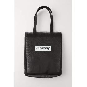 [マウジー] 鞄 ショルダーバッグ early moussy チュール ロゴ トートバッグ 010CSK51-1220 FREE ブラック 黒 レディーズ