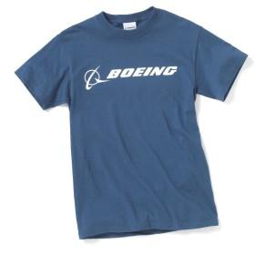 ボーイング Signature Tシャツ ダークブルー M