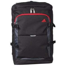カバンのセレクション アディダス リュック スクエア 大容量 24L A3 adidas 47838 チェストベルト付き スクールバッグ ユニセックス ブラック系1 フリー 【Bag & Luggage SELECTION】