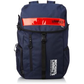 [マイケルリンネル] Big Backpack ML-008 メンズ Navy/Red
