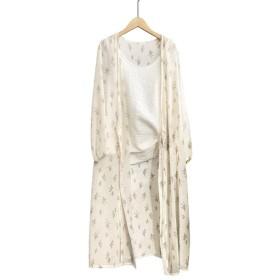 Cuby ラッシュガード uvカット ボレロ 紫外線対策 日焼け止め衣 レディース 可愛い 超薄型 ゆったり 通気性良好 カーディガン トップス コーデ (ホワイト)
