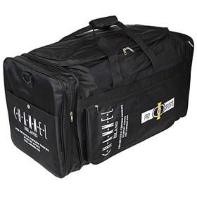 ボストンバッグ ボストン メンズ 大型 ボックス型 約80L 9636 ブラック 角型 特大 男女兼用 修学旅行 旅行 林間学校 スポーツバッグ (ブラック)