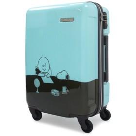 [スヌーピー] スーツケース ピーナッツ 機内持込可 28.5L 47cm 2.5kg PN-010 ミント