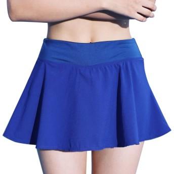 Topyoレデース テニススカートランニングスカートプリーツ スカート ミニ 丈 インナー付き テニス かわいい