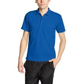 [グリマー] 半袖 4.4オンス ドライ ポロシャツ [ポケット付] 00330-AVP メンズ ロイヤルブルー M (日本サイズM相当)