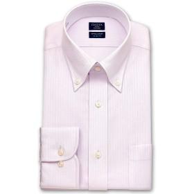 [チョーヤ]ワイシャツ 長袖 スリム 綿100% 形態安定 加工 日清紡 アポロコット ボタンダウン メンズ CFD344-210 [210-4080]
