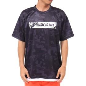 [ネスタ ブランド] NESTA BRAND Tシャツ DRY カット メッシュ カモフラ Tee 192NB1012 ブラック XXXL
