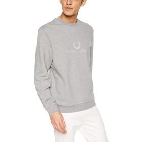 [フレッドペリー] スウェット Embroidered Sweatshirt M2606 メンズ 420STEEL MARL UK M (日本サイズL相当)