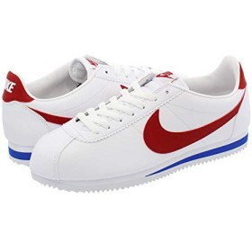 [ナイキ] CLASSIC CORTEZ LEATHER WHITE/VARSITY RED/VARSITY ROYAL_在庫_24.0cm [並行輸入品]