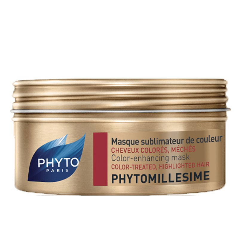 【商品規格】■ 產品名稱:PHYTO 髮朵 鎖色抗氧護髮膜 ■ 原文名稱:PHYTOMILLESIME Masque sublimateur de couleur Pot/200ml■ 規格容量:20