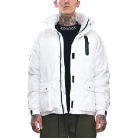 [ビヨンドユー] ダウンジャケット メンズ ダウン ジャケット アウター ボリューム 厚 カジュアル 暖 byd8983w-WHT-XL