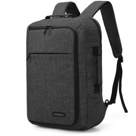 BAGSMART ビジネスバッグ 2WAY ビジネスリュック メンズ リュックサック バックパック 15.6インチまでPC対応 PCバック デイパック 大容量 通学 通勤 出張 旅行
