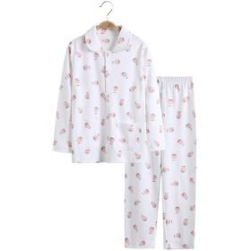 キッズパジャマ 女の子 150cm 長袖 綿100 春夏 ルームウェア 前開き 上下セット かわいい 通気性 親子服 部屋着 ナイトウェア お誕生日 子供の日 プレゼント