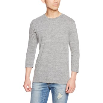 [トラス] Tシャツ TBL-118 メンズ ヘザーグレー 日本 S-(日本サイズS相当)