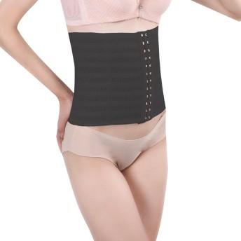 補正下着,腰痛ベルト 女性用 矯正下着 ウエストニッパー 骨盤ベルト ダイエット XL ブラック