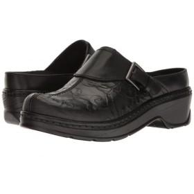 Klogs Footwear(クロッグス) レディース 女性用 シューズ 靴 クロッグ ミュール Austin - Black Flower Tool 9.5 M (C) [並行輸入品]