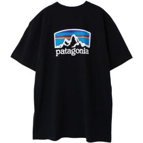 [パタゴニア]Patagonia Men's Fitz Roy Horizons Responsibili-Tee Tシャツ 38440 Black (USサイズ) (S) [並行輸入品]