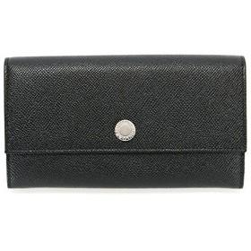 ブルガリ BVLGARI 財布 長財布 メンズ 二つ折り CLASSICO クラシコ ブラック 27749