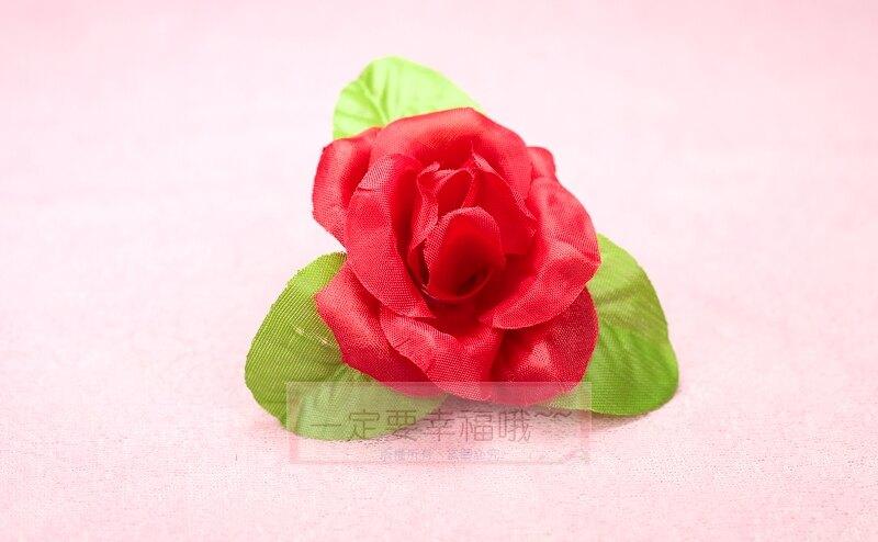 玫瑰胸花(A款) 、禮儀名條、人造花