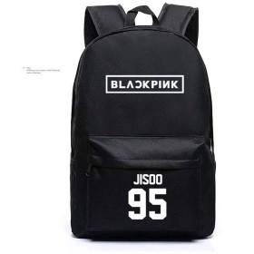 LiLing阿七 ファッション BLACKPINK VIP リュックサック 応援グッズ 周辺 ズック 韓国アイドル  バッグ (2#)