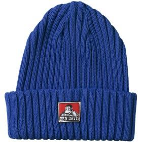 [ベンデイビス] ニット帽 ベンデイビス定番のコットンニットキャップ ブルー 日本サイズM相当