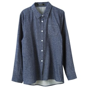 AquaGarage(アクアガレージ)全12タイプネルシャツ L デニムブルー