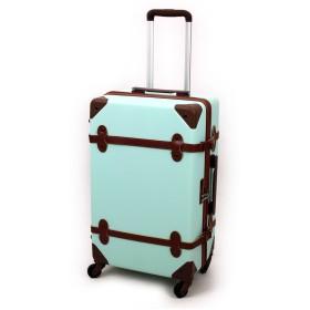 AIRWAY(エアウェイ) スーツケース トランク型キャリー 44L 2~4泊 4輪 TSAロック AW-0696-55 ミントグリーン