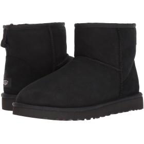 [アグ] メンズブーツ・靴 Classic Mini Black Twinface 8 (26cm) D - Medium [並行輸入品]