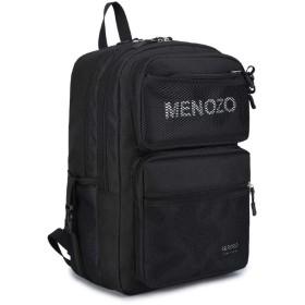 Menozo M635 ズック 大容量 高校生 リュックサック 通勤 レディース 通学 リュック メンズ バックパック (B)