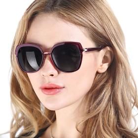 PdnIds レディースクラシックサングラス 偏光サングラス女性用 紫外線カット 100%UV