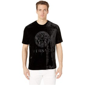 [ヴェルサーチ] メンズ シャツ Chenille Mc Gym T-Shirt [並行輸入品]