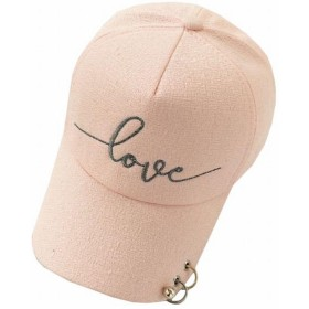 (Magno) レディース ロゴ キャップ 帽子 カジュアル シンプル (13 ピンク)