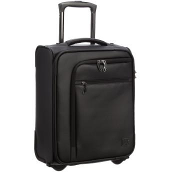 [トラベリスト] スーツケース ジッパー ビジネスキャリー PVC 機内持ち込み可 76-50050 23L 49 cm 2.5kg ブラック
