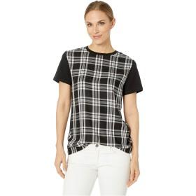 [ラルフローレン] レディース シャツ Plaid-Panel T-Shirt [並行輸入品]