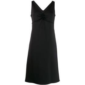 Maison Margiela エンパイアライン ミディドレス - ブラック