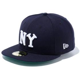 【メーカー取次】 NEW ERA ニューエラ 59FIFTY Negro Leagues ニグロリーグ ニューヨーク・ブラックヤンキース 11781688 キャップ(ネイビー 表記8)