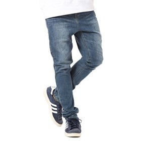 JIGGYS SHOP (ジギーズショップ) サルエルデニムパンツ メンズ パンツ メンズ デニム メンズ ジーンズ メンズ サルエル メンズ M ブルー