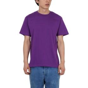 (プリントスター)Printstar 5.6オンス ヘビーウエイトTシャツ 00085-CVT 2枚セット 014 パープル 03 L