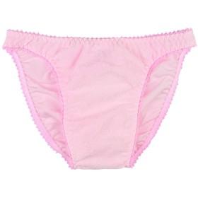 [クレール] メンズ ショーツ ・ 花柄ジャガード ピコゴム インシームレス(Mサイズ, ピンク)