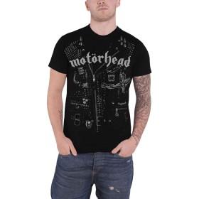 Motorhead T Shirt Leather ジャケット Band Logo 新しい 公式 メンズ Size XL
