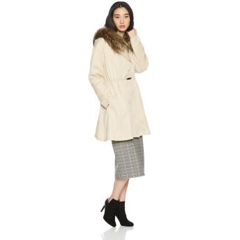 (リエンダ) rienda Faux Fur フレアミリタリーCT 110AA230-1090 FREE ライトベージュ