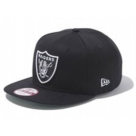 ニューエラ 9FIFTY スナップバック NFL オークランド・レイダース 11308459 シールドロゴ 黒/白 Oakland Raiders black/white Snapback