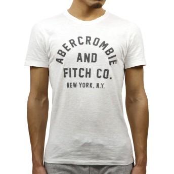 [アバクロ] Abercrombie&Fitch 正規品 メンズ 半袖Tシャツ APPLIQUE GRAPHIC TEE 123-238-2178-100 M 並行輸入品 (コード:4116250201-3)