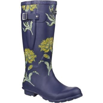 [Cotswold] (コッツウォルド) レディース Windsor プリント入り ウェリントンブーツ 婦人靴 レインブーツ 長靴 女性用 (6 UK) (フローラル)