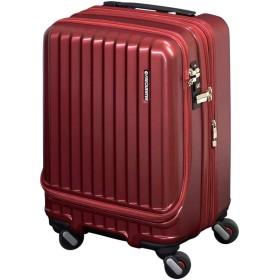 [フリクエンター] スーツケース マーリエ 機内持込可 34L/39L 46cm 3.7kg 1-282 ワイン