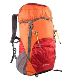 G4Free 登山リュックサック 35L 大容量 折りたたみ バックパック 防水 軽量 旅行 アウトドア キャンプ ハイキング 防災 多機能 ディバッグ 男女兼用