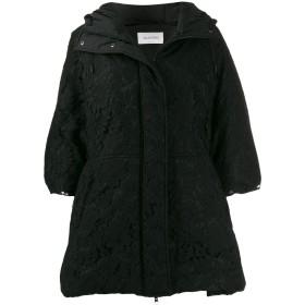 Valentino フーデッド コート - ブラック