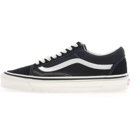 [バンズ]ヴァンズ オールドスクール VANS OLD SKOOL 36 DX (Anaheim Factory) black/true white / VN0A38G2PXC [並行輸入品]